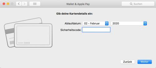 Apple Pay Mac Einrichten
