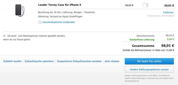 Apple Store In Safari Mit Apple Pay Zahlen