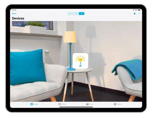 homekit app devices jetzt mit augmented reality steuerung. Black Bedroom Furniture Sets. Home Design Ideas