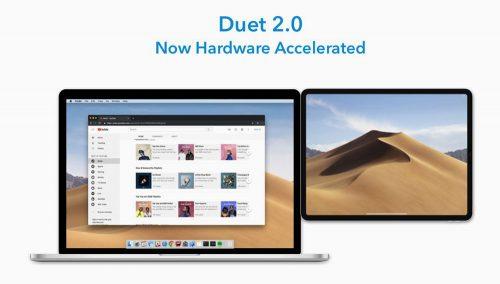 Duet Display Hardware Beschleunigung Mac