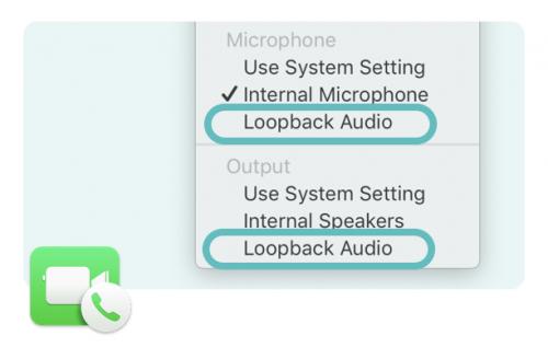 Facetime Loopback