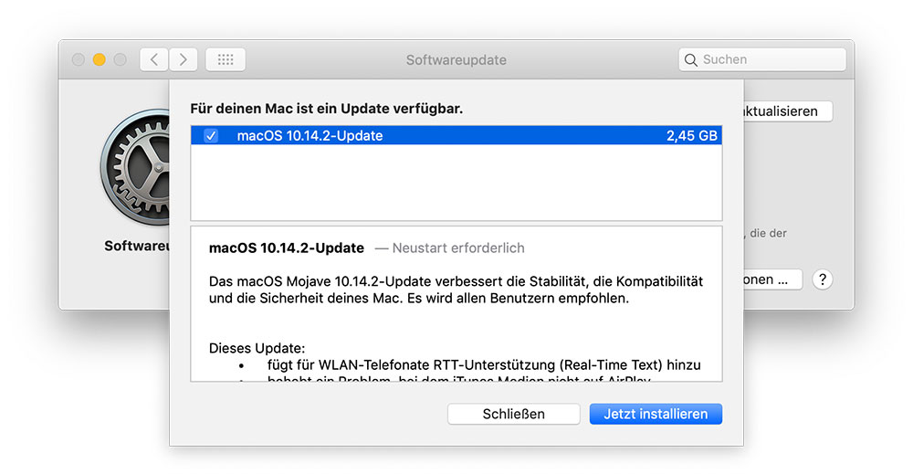 Mac Update