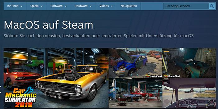 Macos Auf Steam