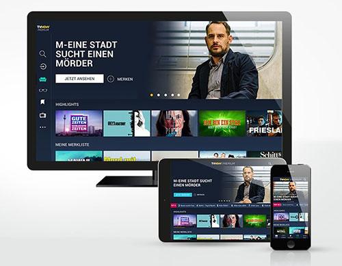 Mediengruppe RTL platziert TV NOW als neuen Streaming-Dienst