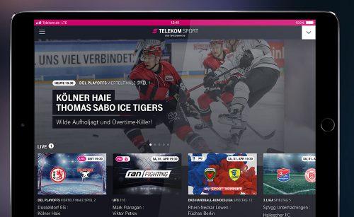 Telekom Sport Ipad