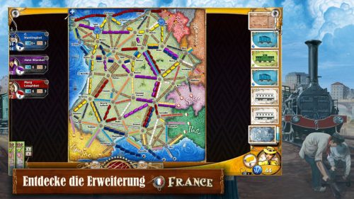 Ticket To Ride Frankreich