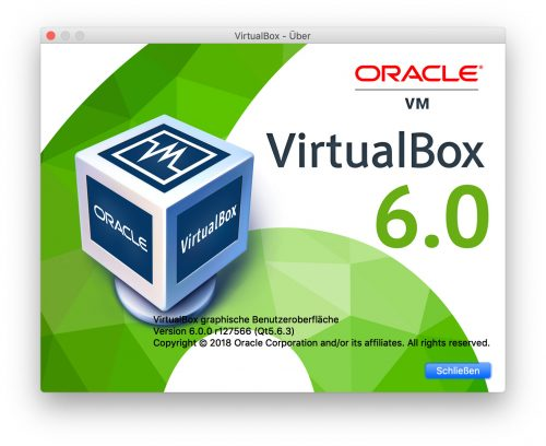 Virtualbox 6