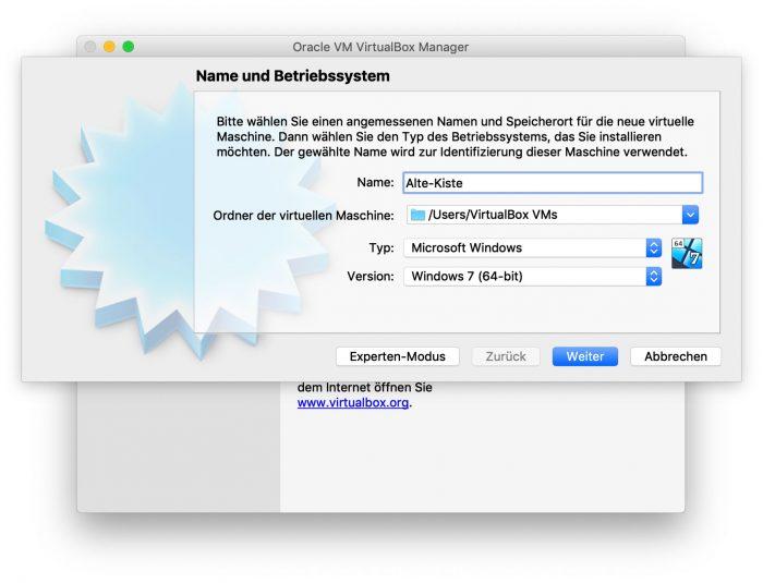 Virtualbox 6 Screen