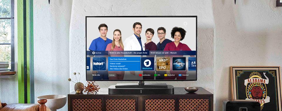 Hbbtv Ard Ab Heute Mit Neuer Tv Startleiste Ifunde