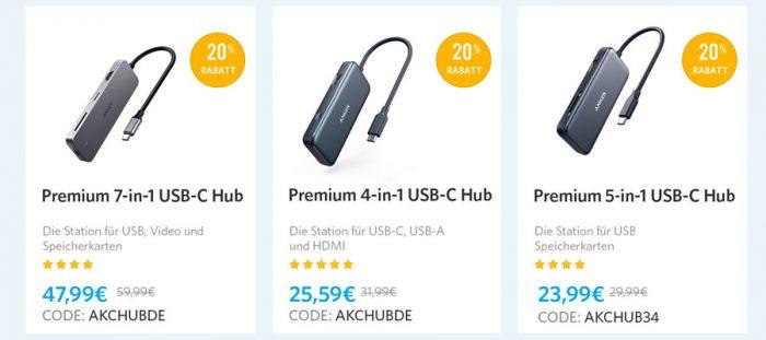 Anker Hubs