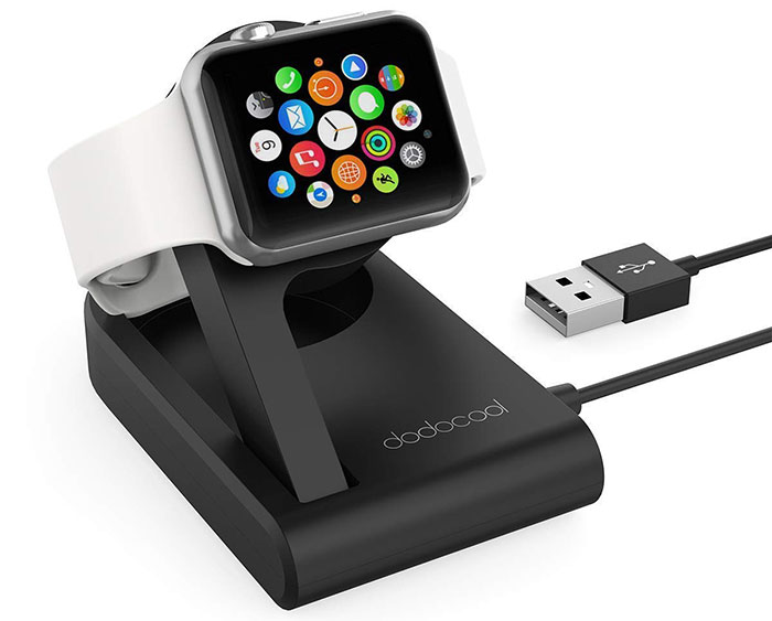Apple Watch Lade Dock Dodocool