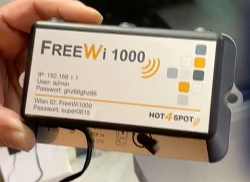 Freewi 1000 Router Wohnmobil