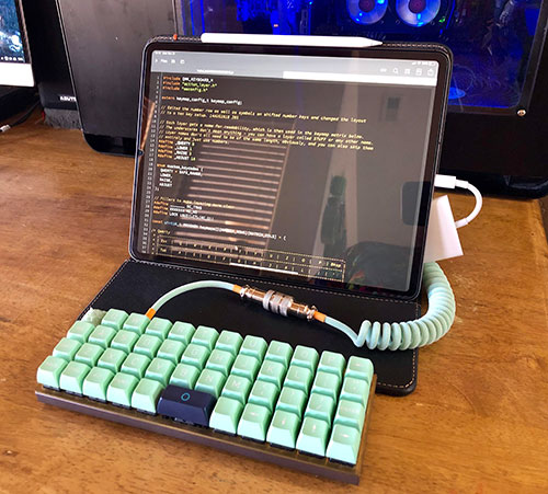 Ipad Pro Planck Keyboard