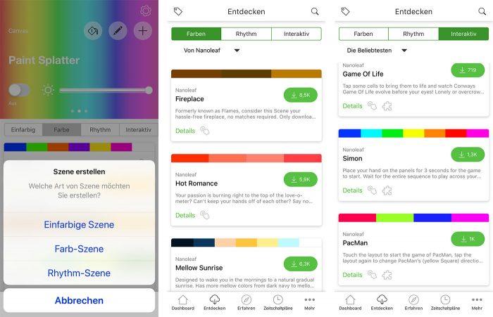 Nanoleaf Canvas App