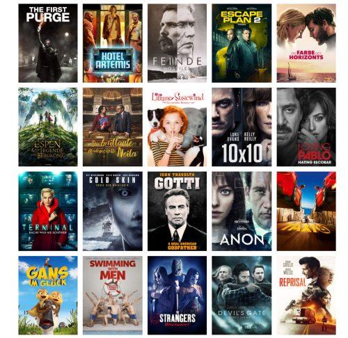 20 Leihfilme