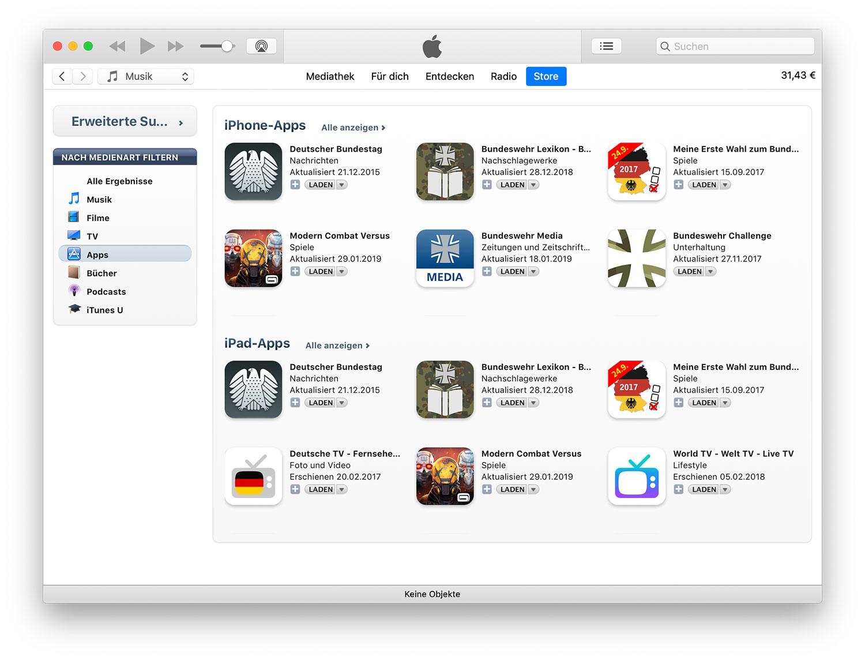 a786f7603c iTunes 12.9: Link reaktiviert alte App Store-Suche › ifun.de