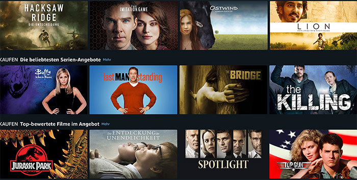 Amazon Video Angebote