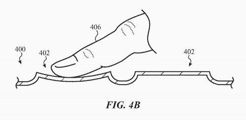 Apple Glas Tastatur Patent Macbook