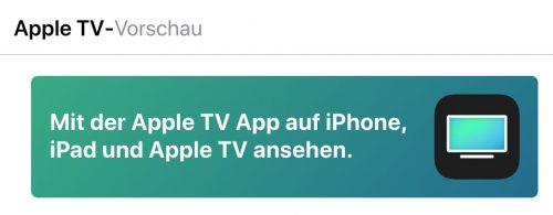 Apple Tv App Vorschau