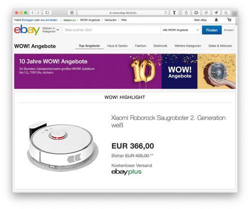 Ebay Wow Safari