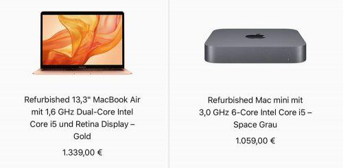 Macbook Air Mac Mini Refurb Store
