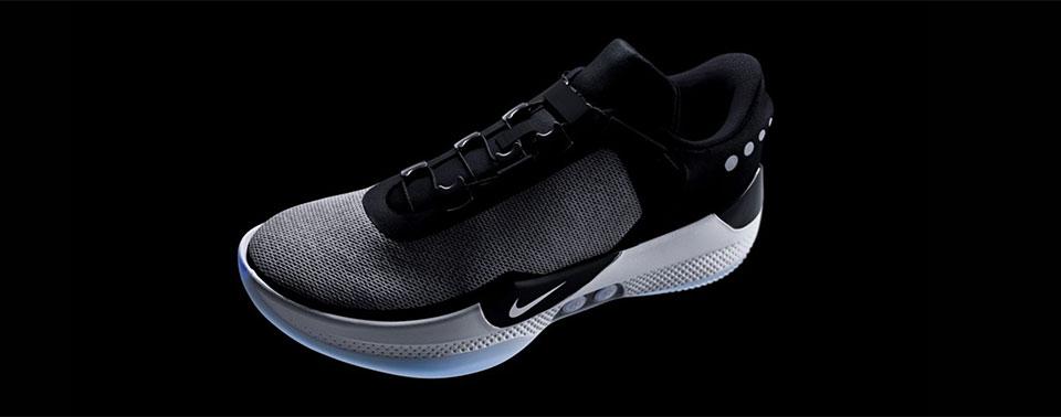 Softwareupdate legt Nikes selbstschnürenden Basketball Schuh