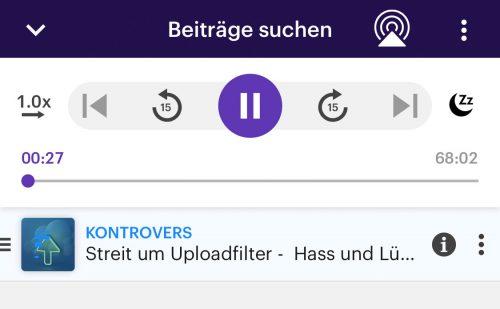 Upload Filter