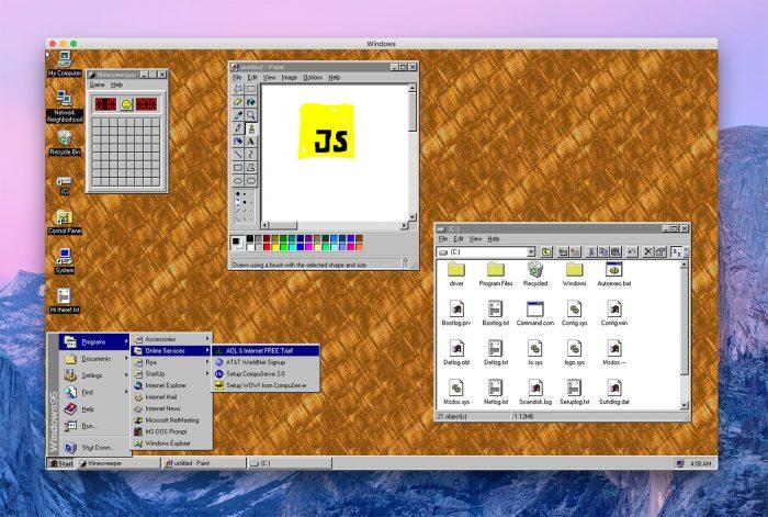 Windows 95 App