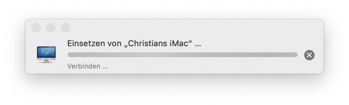 Allgemeine Zwischenablage Von Mac Zu Mac
