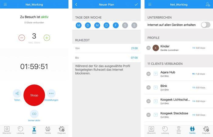 Amplifi Instant App Profile Und Gast