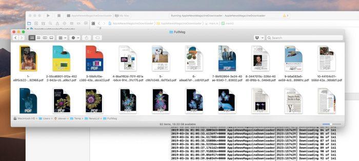 Apple News Downloader