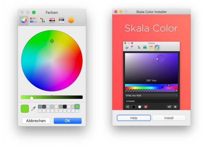 Color Picker Skala