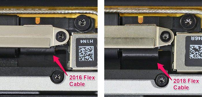 Flexgate Kabel Macbook Pro 2018