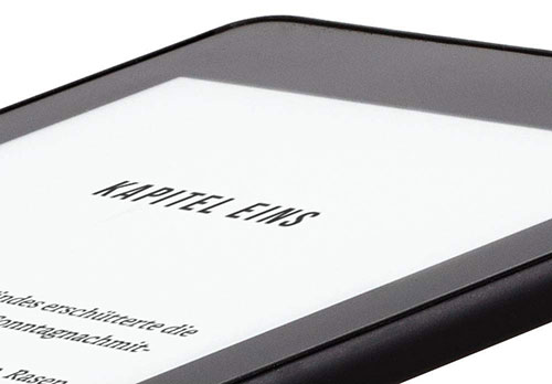 Kindle Glattes Frontdesign