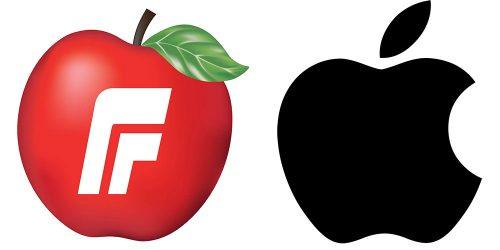Logo Streit Apple Fremskrittspartiet