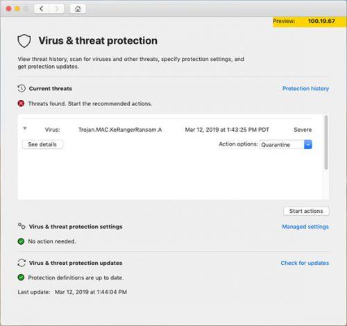 Microsoft Defender Atp For Mac 4 Take Action