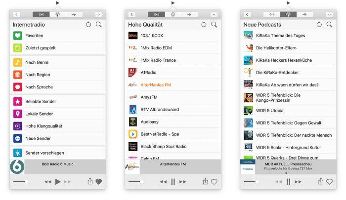 Receiver Internetradio App Mac