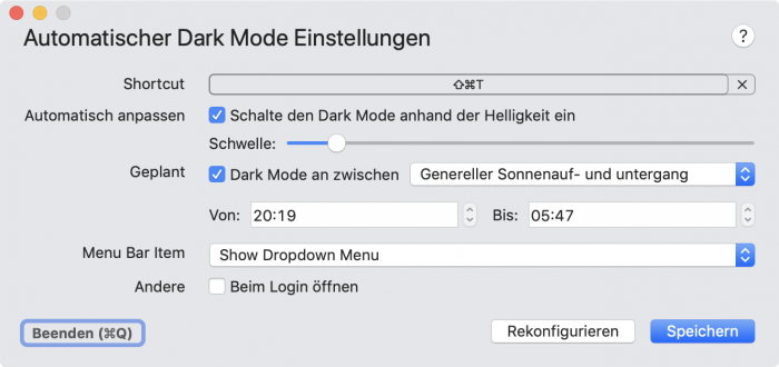 Dynamic Dark Mode