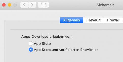 App Downloads Erlauben