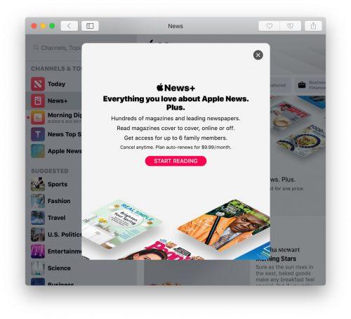 Apple News Plus Abo