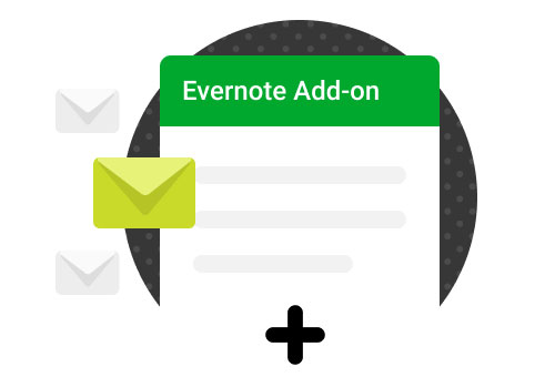 Evernote Gmail Add On