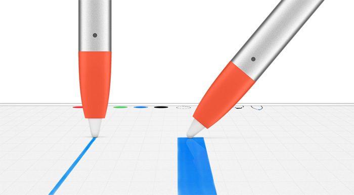 Logitech Crayon Spitze