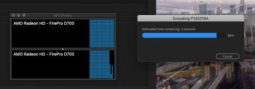 Premiere Pro Dual Grafik