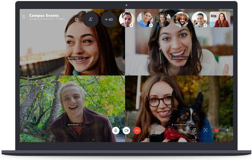 Skype Gruppen Telefonat Mit Video