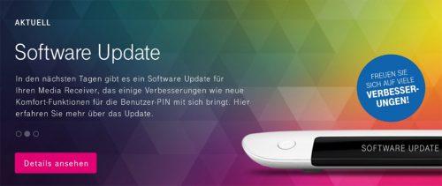 Telekom Media Receiver Update