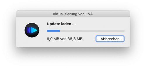 Update Iina Videoplayer