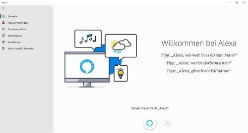 Alexa Im Windows Store