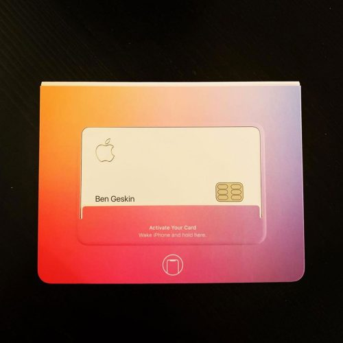 Apple Card Cover