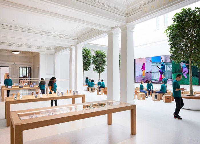 Apple Carnegie Libary Innenraum