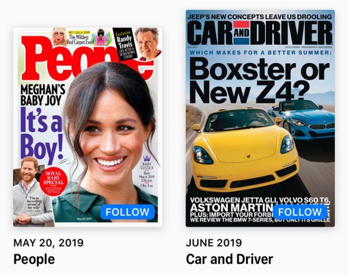 Apple News Plus Magazinen Folgen